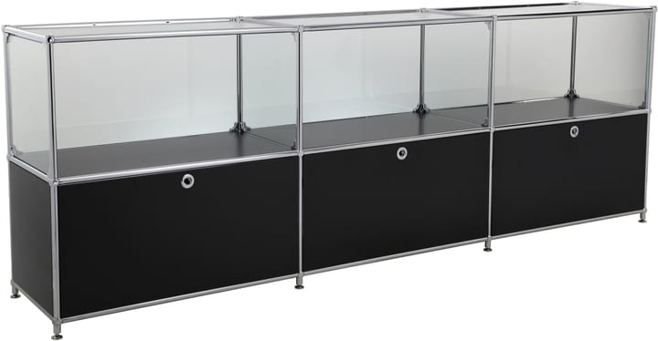 FLEXCUBE Buffet 401814530220 Dimensions L: 227.0 cm x P: 40.0 cm x H: 80.5 cm Couleur Noir Photo no. 1