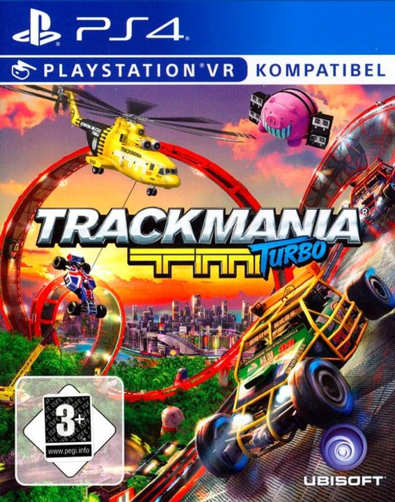 PS4 - Trackmania Turbo Box 785300122482 N. figura 1