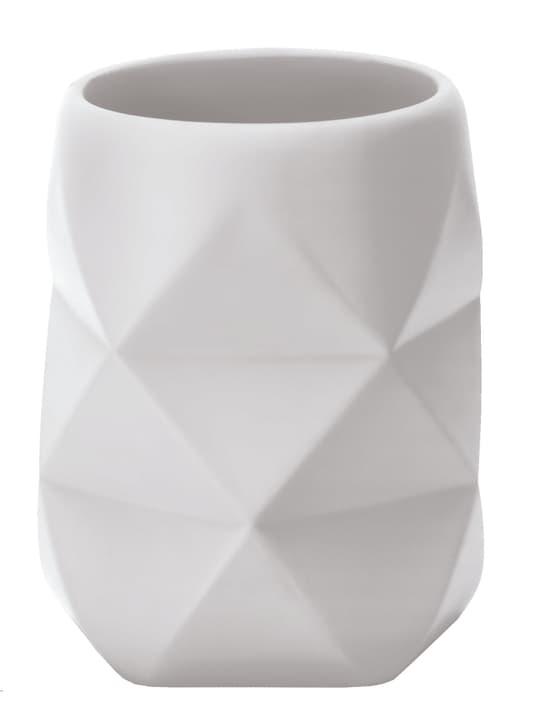 Bicchiere Crackle bianco Kleine Wolke 675892700000 N. figura 1