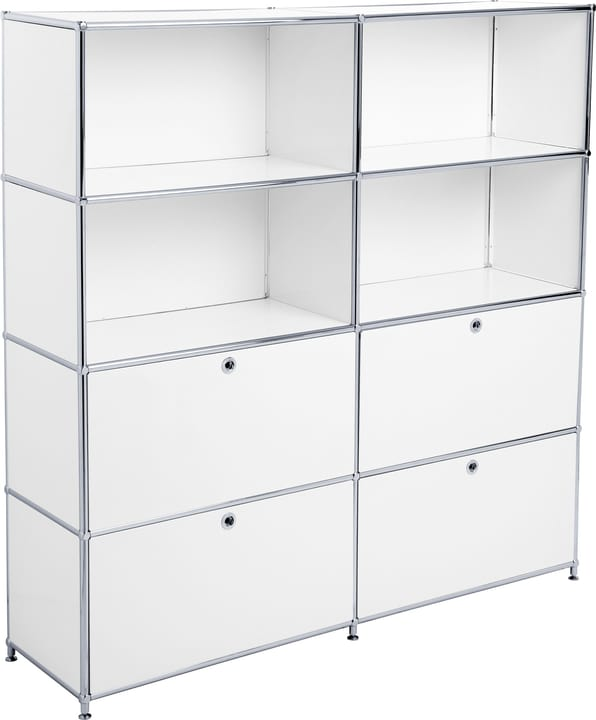 FLEXCUBE Etagère 401815120410 Dimensions L: 152.0 cm x P: 40.0 cm x H: 155.5 cm Couleur Blanc Photo no. 1