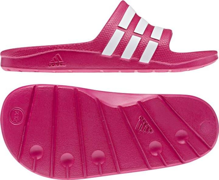 Duramo Slide Sandales pour enfant Adidas 460677535029 Couleur magenta Taille 35 Photo no. 1