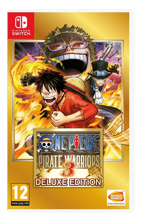 Switch - One Piece: Pirate Warriors 3 (I) Box 785300132971 N. figura 1