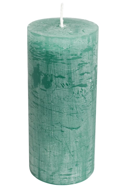 BAL Zylinderkerze 440582901062 Farbe Mittelgruen Grösse H: 14.0 cm Bild Nr. 1
