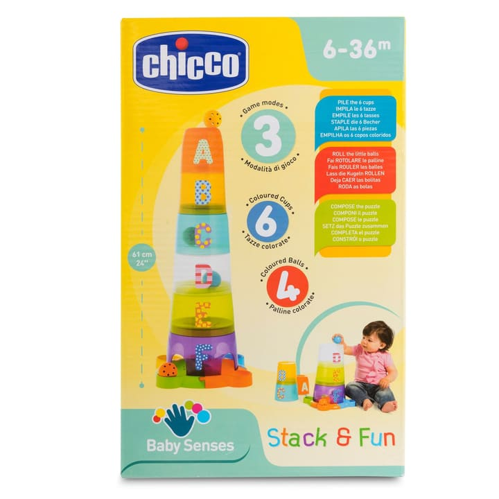 Stack & Fun Chicco 747328400000 Photo no. 1