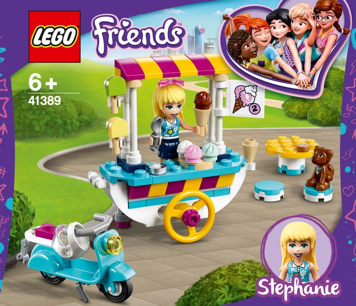 LEGO Friends 41389 Il carretto dei g 748726400000 N. figura 1