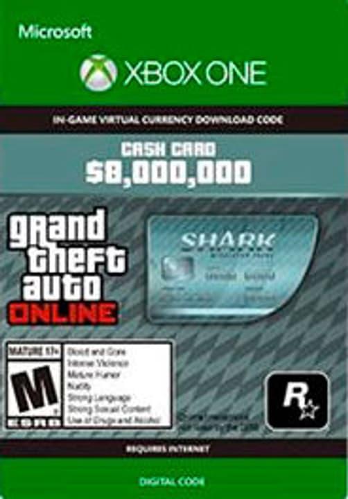 Xbox One - Grand Theft Auto V: Megalodon Shark Card Digitale (ESD) 785300135620 N. figura 1