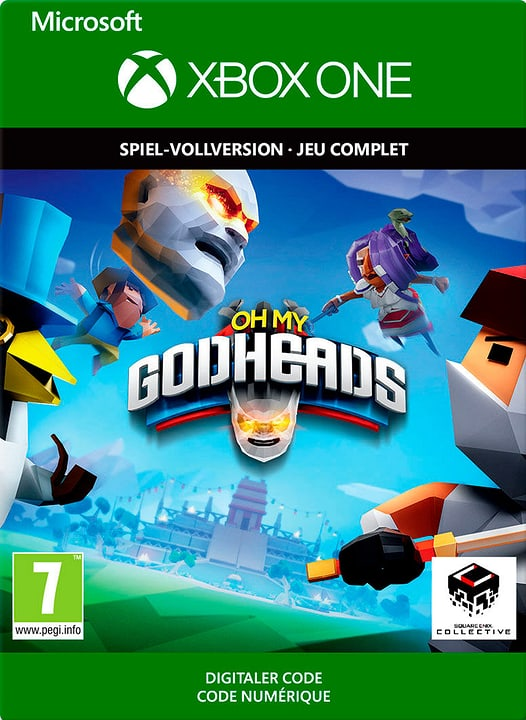 Xbox One - Oh My Godheads Download (ESD) 785300144402 Photo no. 1