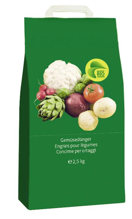 Gemüsedünger, 2.5 kg Migros-Bio Garden 658308200000 Bild Nr. 1
