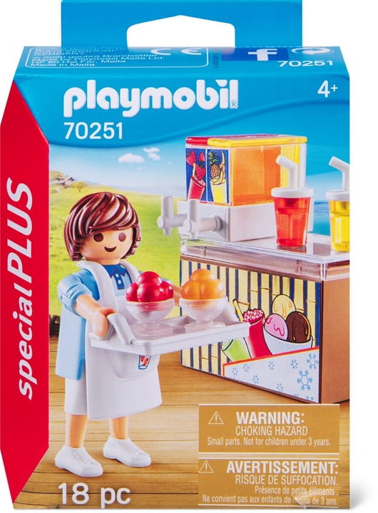 PLAYMOBIL 70251 Venditore di gelati 748029100000 N. figura 1