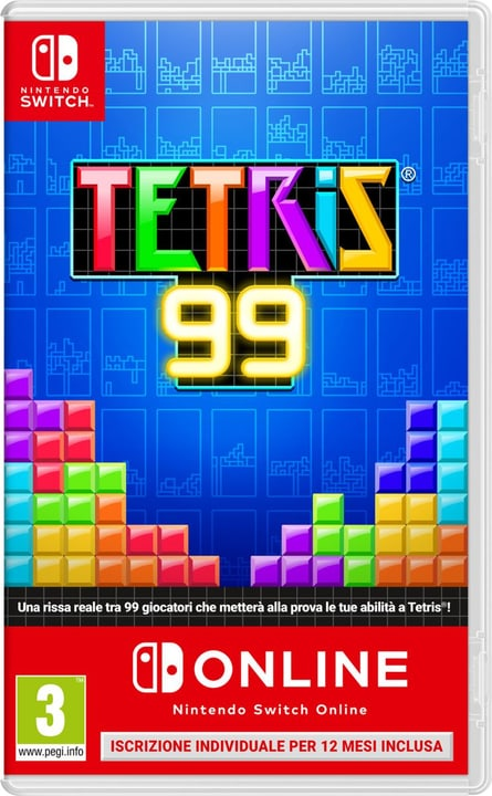 Tetris 99 incl. 12 mesi di abbonamento Nintendo Switch Online Box Nintendo 785300146371 Langue Italien Plate-forme Nintendo Switch Photo no. 1