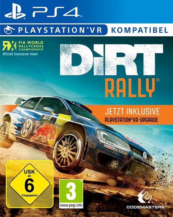 PS4 - DiRT Rally & VR Upgrade 785300121758