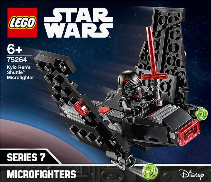 LEGO 75264 Kylo Rens Shuttle Microfighter 748729900000 Photo no. 1