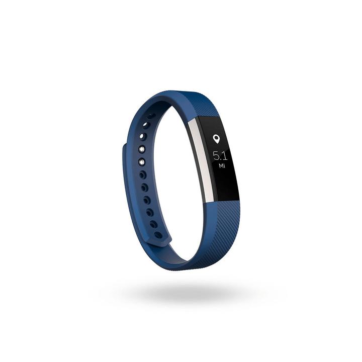Alta bracciale classico blu L Fitbit 798119200000 N. figura 1