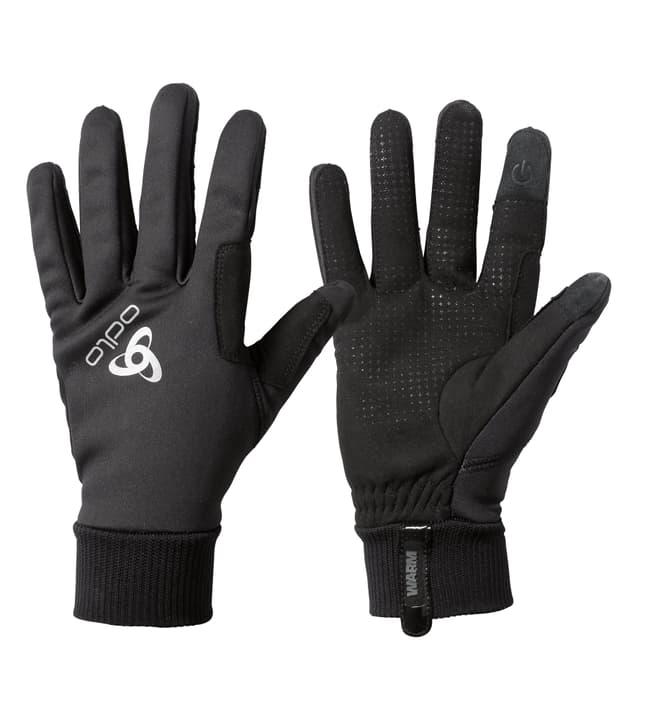 Windproof Warm Gloves Unisex-Handschuhe Odlo 498516000420 Farbe schwarz Grösse M Bild-Nr. 1