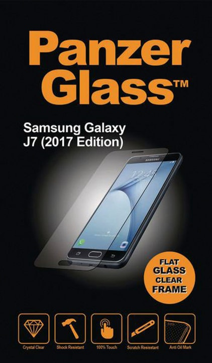 Flat Clear Galaxy J7 (2017) Pellicola prottetiva Panzerglass 785300134533 N. figura 1