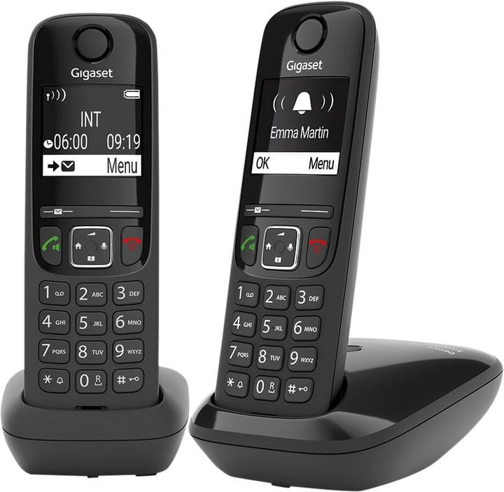 A S690 Duo Nero Telefono fisso Gigaset 794060800000 N. figura 1
