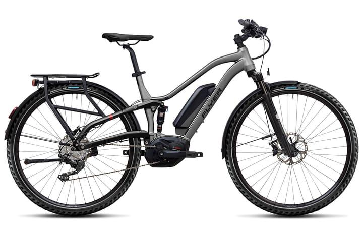 "TX 7.10 28"" E-Trekkingbike FLYER 463350000487 Rahmengrösse M Farbe silberfarben Bild Nr. 1"