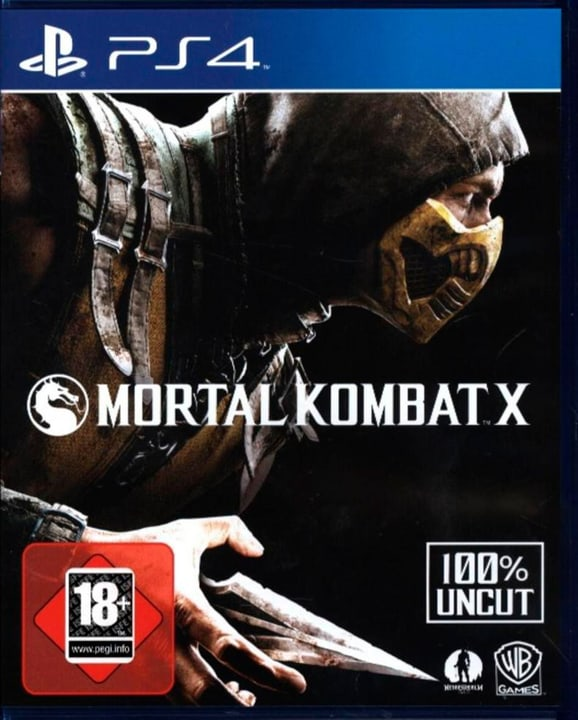 PS4 - Playstation Hits: Mortal Komat X Physisch (Box) 785300137765 Bild Nr. 1