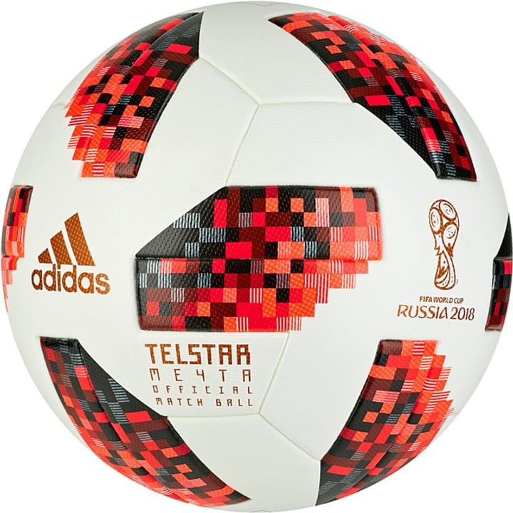 "World Cup OMB Knockout ""Telstar"" Ballon de football Adidas 461937100510 Couleur blanc Taille 5 Photo no. 1"