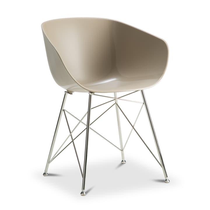 SEDIA Chaise avec accoudoirs 366168800000 Couleur Fange Dimensions L: 45.0 cm x P: 58.0 cm x H: 81.0 cm Photo no. 1