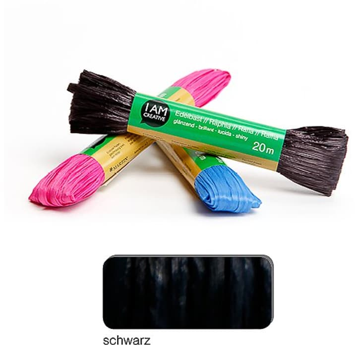 Rafia mat I AM CREATIVE 665524700010 Colore Nero N. figura 1