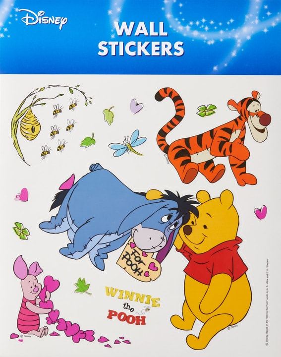DISNEY Wall Sticker Winnie the Pooh 433017900050 Dimensions L: 30.0 cm x H: 30.0 cm Photo no. 1