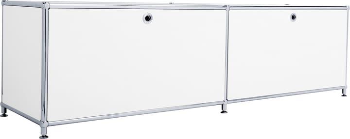 FLEXCUBE Buffet bas 401808800010 Dimensions L: 152.0 cm x P: 40.0 cm x H: 43.0 cm Couleur Blanc Photo no. 1
