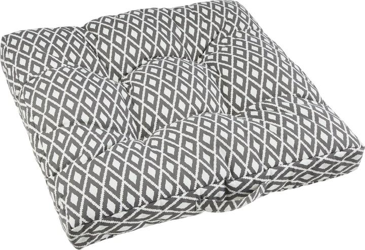 LEANDRO Outdoor Sitzkissen 450762307080 Farbe Grau Grösse B: 60.0 cm x T: 60.0 cm x H: 10.0 cm Bild Nr. 1