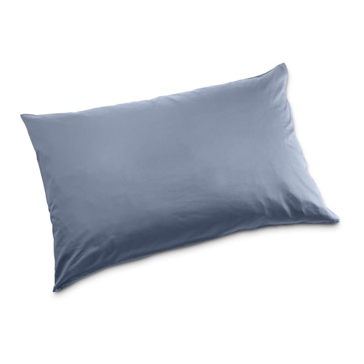 KOS Taie d'oreiller Satin 376026468903 Couleur Bleu rayé Dimensions L: 100.0 cm x L: 65.0 cm Photo no. 1