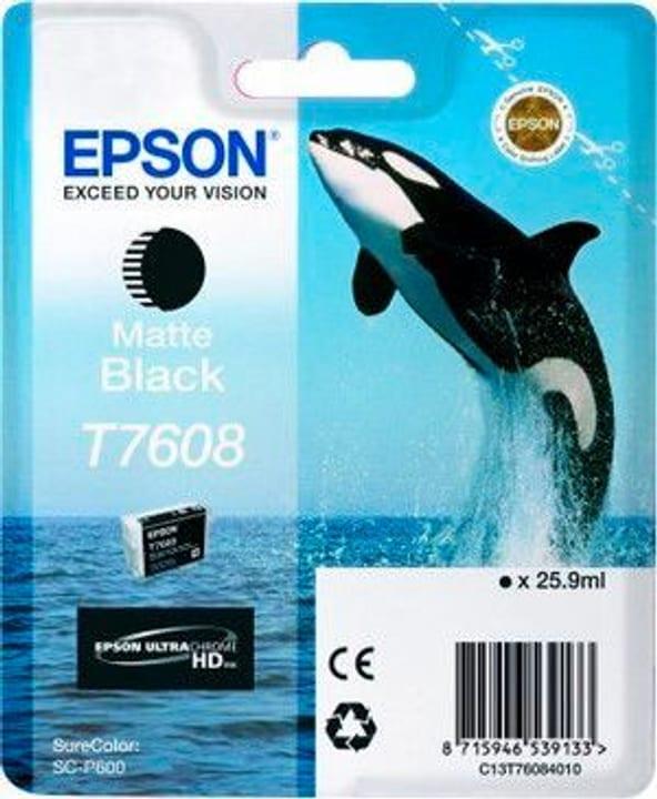T7608 matte black Cartouche d'encre Epson 798535300000 Photo no. 1