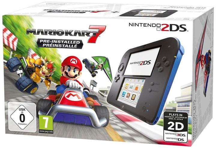 2DS noir-blue incl. Mario Kart 7 Nintendo 785436600000 Photo no. 1