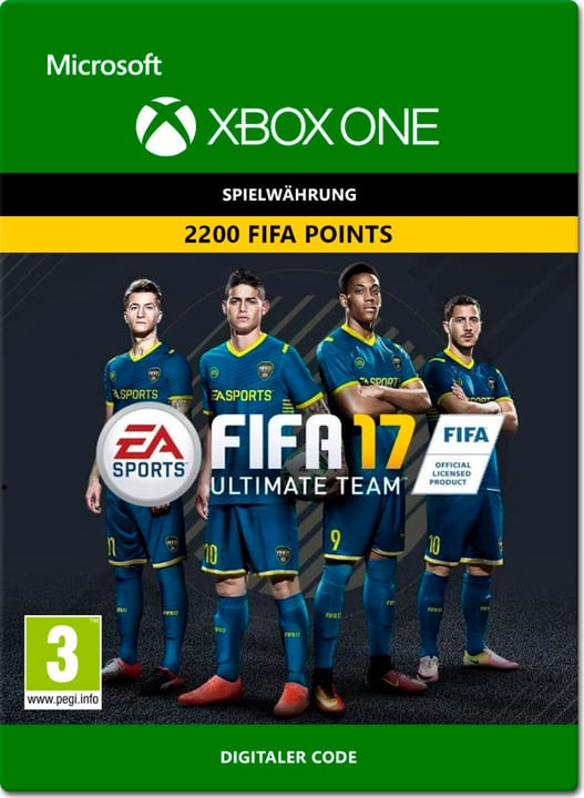 Xbox One - FIFA 17 Ultimate Team: 2200 Points Download (ESD) 785300137375 Photo no. 1
