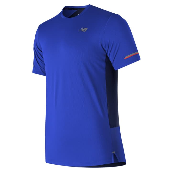 NB ICE 2.0 SS Shirt pour homme New Balance 470156200340 Couleur bleu Taille S Photo no. 1