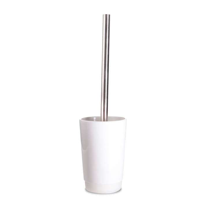 WHITE BASE Brosse WC 374006490153 Dimensions L: 10.2 cm x P: 15.8 cm x H: 15.8 cm Couleur Blanc Photo no. 1