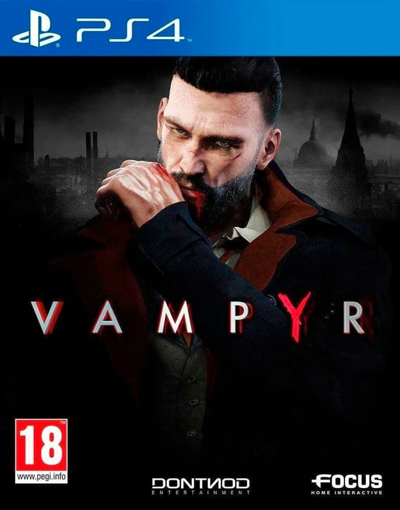 PS4 - Vampyr Fisico (Box) 785300129095 N. figura 1