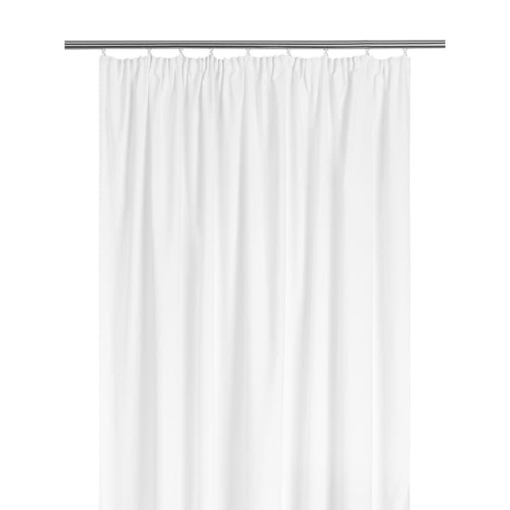 AMELIA Rideau opaque prêt à poser 372096321810 Dimensions L: 150.0 cm x H: 260.0 cm Couleur Blanc Photo no. 1