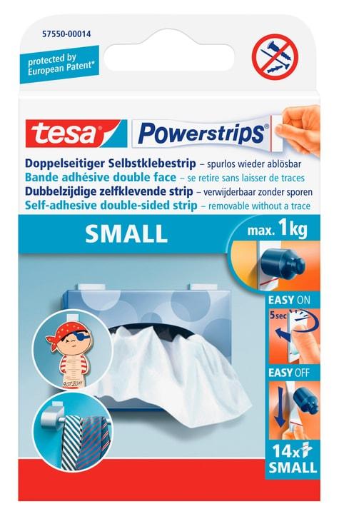 Powerstrips® SMALL blanc, 14 strips Tesa 663084200000 Photo no. 1