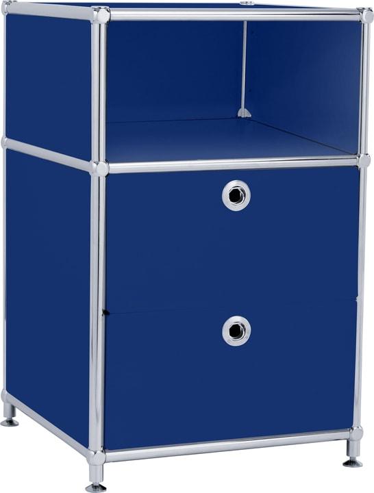 FLEXCUBE Cassettiera 401816400040 Dimensioni L: 40.0 cm x P: 40.0 cm x A: 62.5 cm Colore Blu N. figura 1