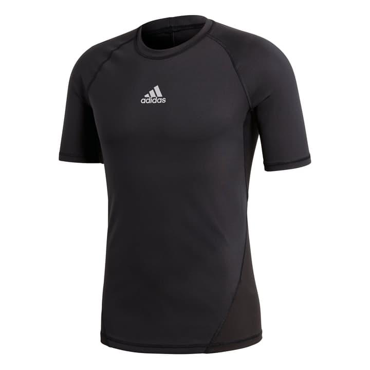 Ask Sport Shorsleeve Tee Shirt de football pour homme Adidas 498279100320 Couleur noir Taille S Photo no. 1