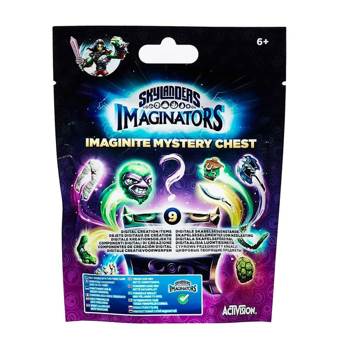 Skylanders Imaginators Treasure Chest Wave 1 785300121426 Photo no. 1