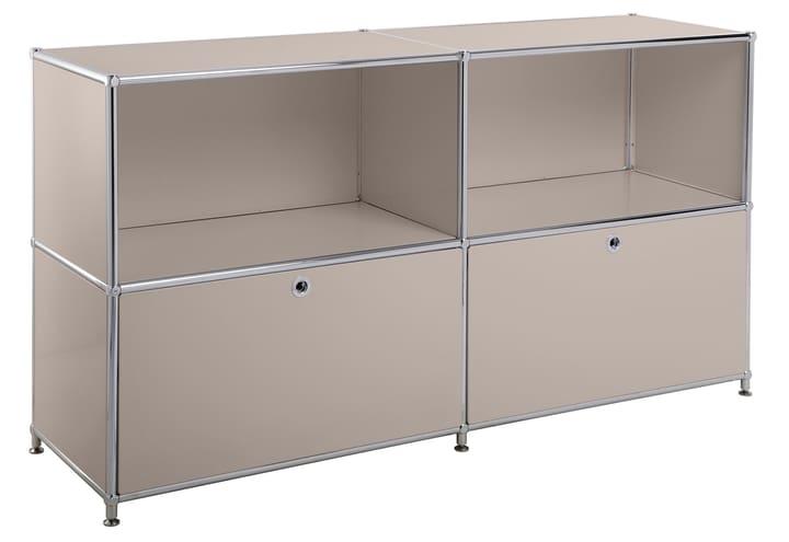 FLEXCUBE Sideboard 401814020288 Grösse B: 152.5 cm x T: 40.0 cm x H: 80.5 cm Farbe Taupe Bild Nr. 1