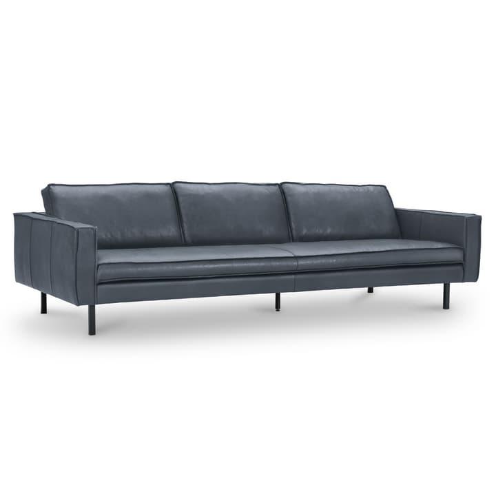 TEXADA II Corrida divano in pelle da 4 posti 360051671204 Dimensioni L: 241.0 cm x P: 95.0 cm x A: 61.0 cm Colore Blu scuro N. figura 1