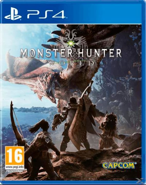 PS4 - Monster Hunter: World - D/F/I Physisch (Box) 785300131992 Bild Nr. 1