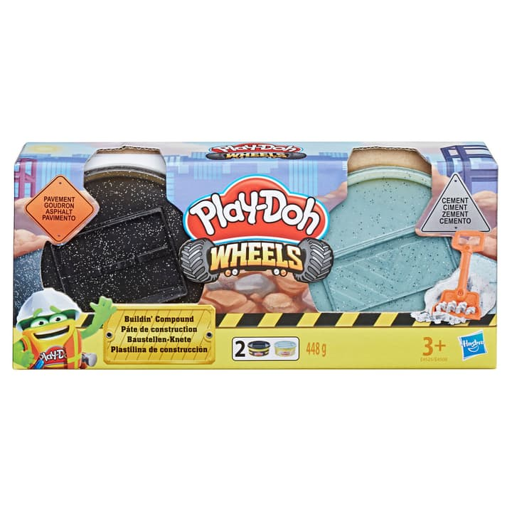 Play-Doh cantiere 746144800000 N. figura 1
