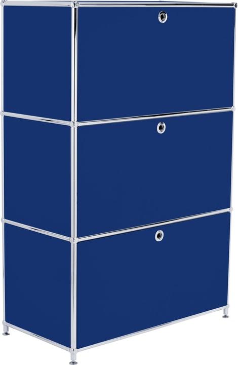 FLEXCUBE Buffet haut 401808700040 Dimensions L: 77.0 cm x P: 40.0 cm x H: 118.0 cm Couleur Bleu Photo no. 1