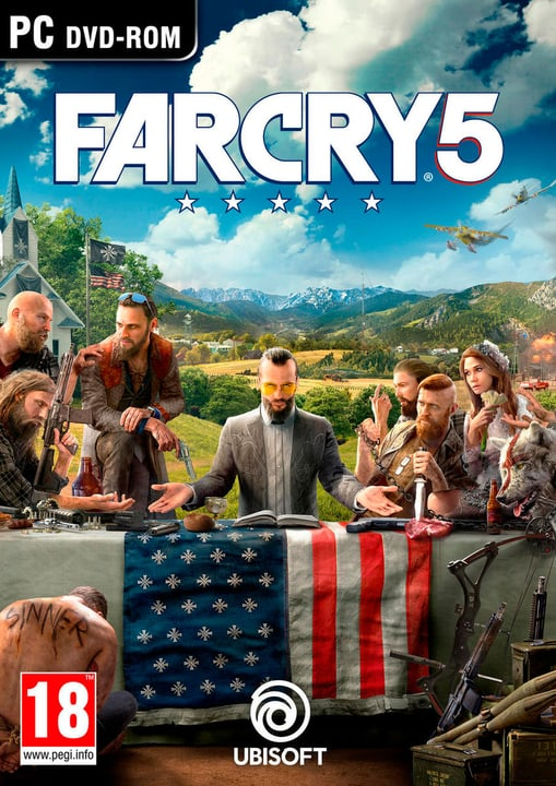 PC - Far Cry 5 Physisch (Box) 785300128231 Sprache Deutsch Plattform PC Bild Nr. 1