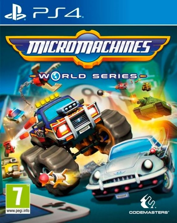 PS4 - Micro Machines World Series Physique (Box) 785300122321 Photo no. 1
