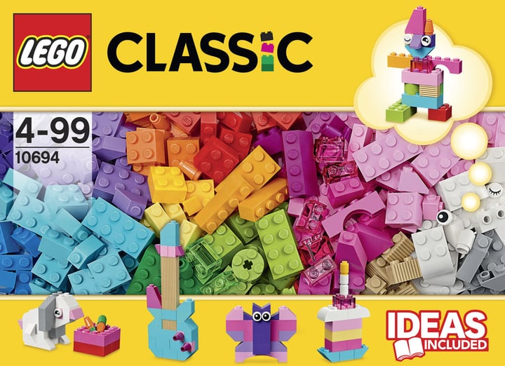 LEGO Classic Accessori colorati creativi 10694 747870600000