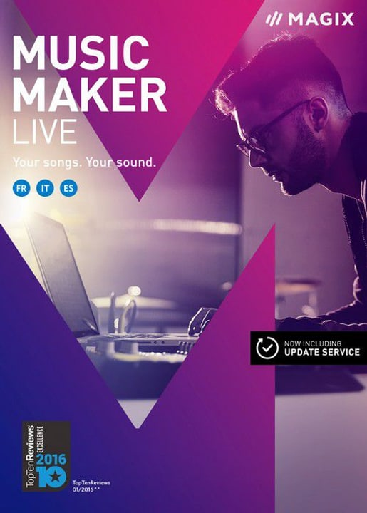 PC Magix Music Maker Live Physique (Box) Magix 785300121432 Photo no. 1