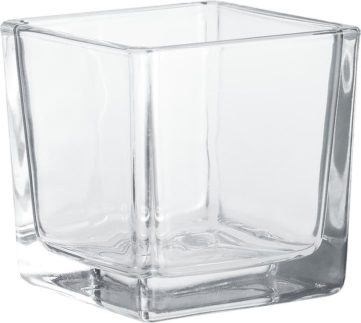 Photophore Hakbjl Glass 655711000000 Couleur Transparent Taille ø: 8.0 cm x L: 8.0 cm x L: 8.0 cm x P:  x H:  Photo no. 1